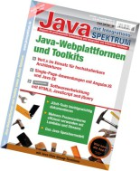 Java Spektrum Magazin - Oktober-November 2014