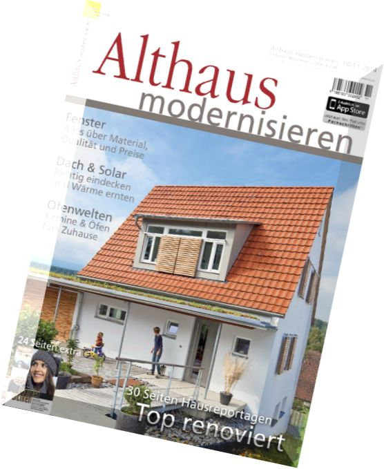 download althaus modernisieren oktober november n 10 11. Black Bedroom Furniture Sets. Home Design Ideas