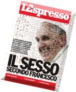 l'Espresso N 38 - 25 Settembre 2014
