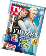 TV Guide Magazine - 22 September 2014