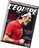 L'Equipe Magazine N 1677 - Samedi 6 Septembre 2014