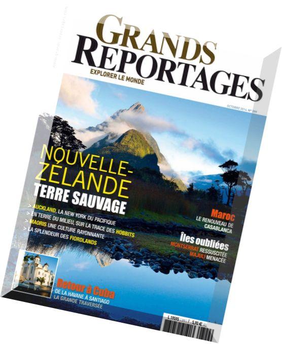 download grands reportages n 399 octobre 2014 pdf magazine. Black Bedroom Furniture Sets. Home Design Ideas
