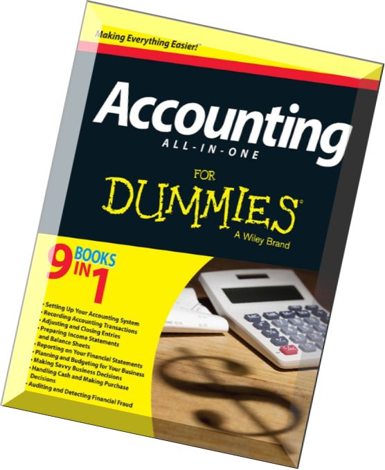 Accounting All-in-One For Dummies 2nd Edition PDF Free Download