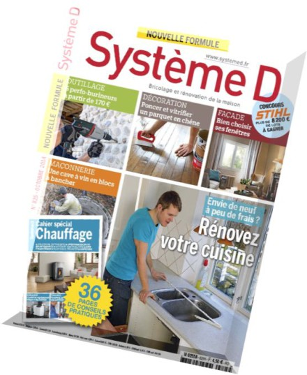 download systeme d n 825 octobre 2014 pdf magazine. Black Bedroom Furniture Sets. Home Design Ideas