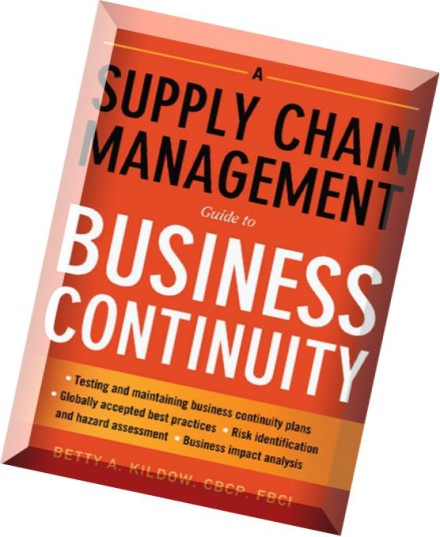 business continuity in supply chain management The automotive supply chain is a large, complex operation that requires sophisticated management techniques, substantial information technology expertise, and close coordination logistics service provider dsv and supply chain movement have created a mind map for.