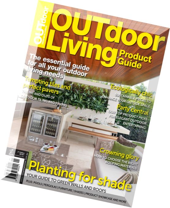 Download outdoor design living magazine outdoor living for Outdoor living magazine