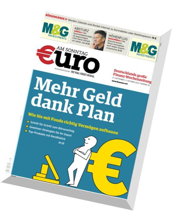 download euro am sonntag magazin n 39 27 september 2014 pdf magazine. Black Bedroom Furniture Sets. Home Design Ideas