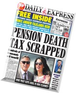 Daily Express - Monday, 29 September 2014