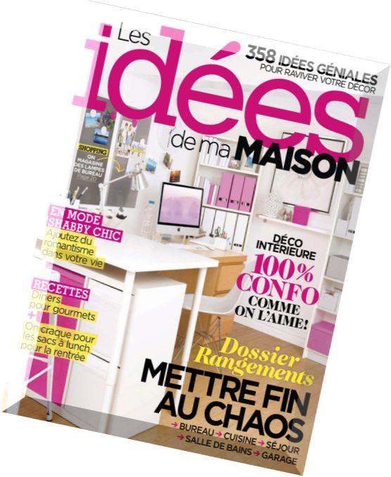 Download les idees de ma maison septembre 2014 pdf magazine - Maison idees magazine ...