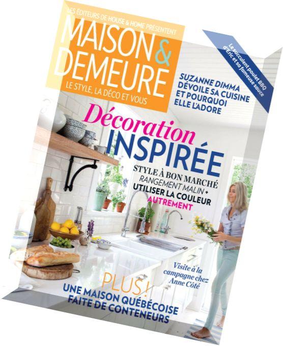 Download maison demeure vol 6 n 5 juin 2014 pdf magazine - Maison demeure magazine ...