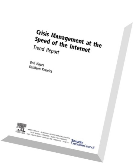 Download Crisis Management at the Speed of the Internet ...