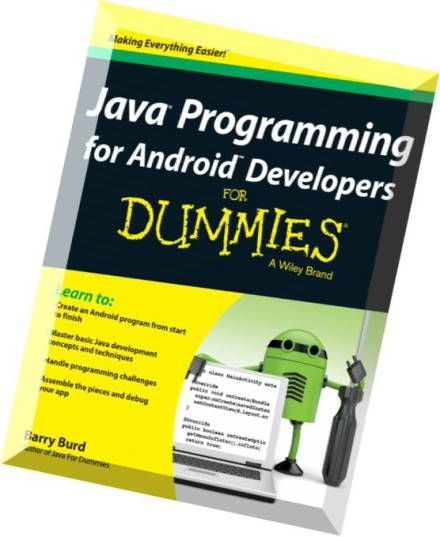 pdf download android application development for dummies