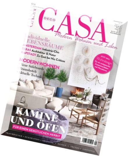 download casa deco wohn und lifestylemagazin november. Black Bedroom Furniture Sets. Home Design Ideas