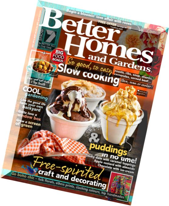 Download Better Homes And Gardens Australia July 2014: better homes and gardens au