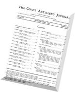 Coast Artillery Journal - March-April 1931