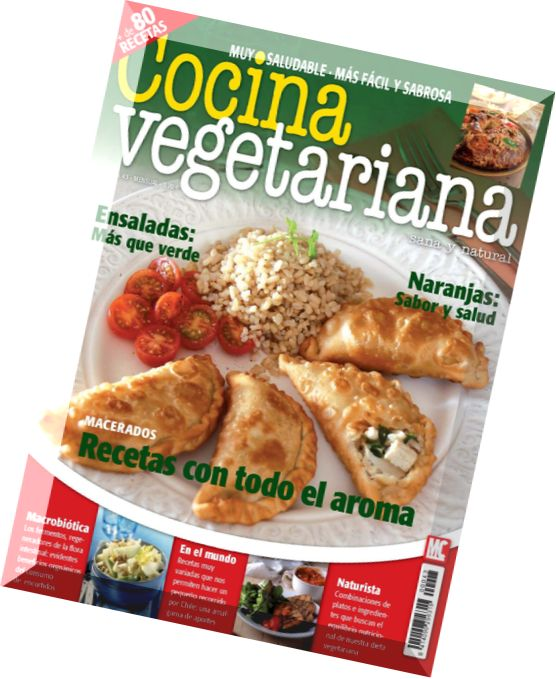 Download cocina vegetariana january 2014 pdf magazine for Cocina vegetariana