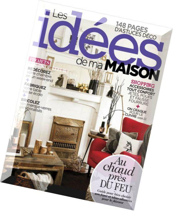 Download les idees de ma maison octobre 2014 pdf magazine - Idees de ma maison ...