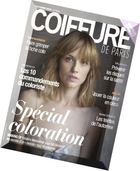 download coiffure de paris n 1206 octobre 2014 pdf magazine. Black Bedroom Furniture Sets. Home Design Ideas