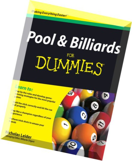 Download Pool And Billiards For Dummies Pdf Magazine