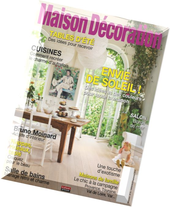 Download maison decoration n 15 juillet aout septembre 2014 pdf magazine - Magazine decoration maison ...
