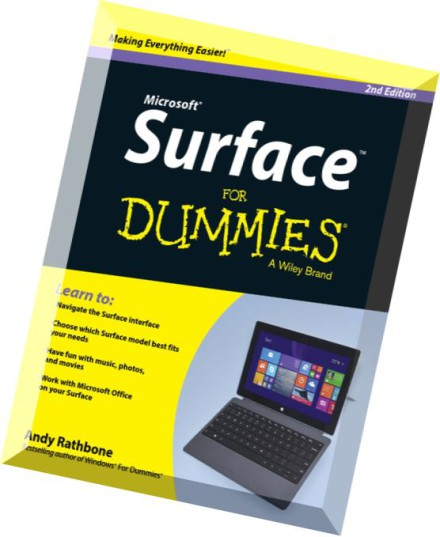 Download Surface For Dummies 2nd Edition Pdf Magazine