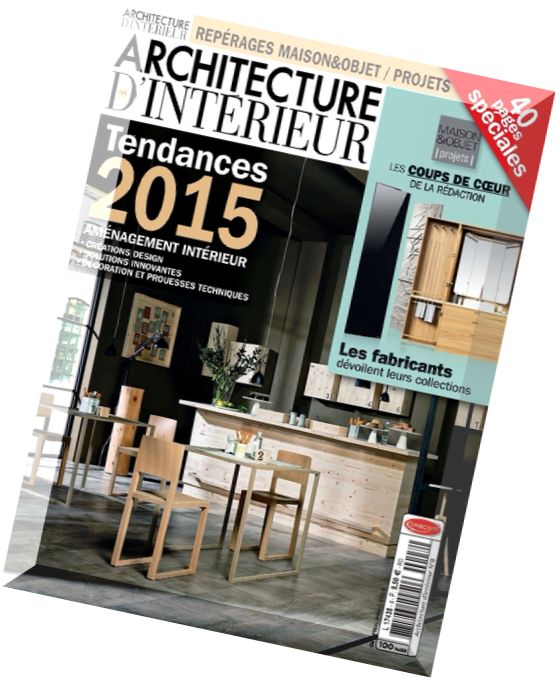 download architecture d interieur magazine pdf magazine. Black Bedroom Furniture Sets. Home Design Ideas