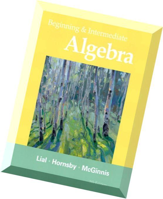 intermediate algebra for dummies pdf