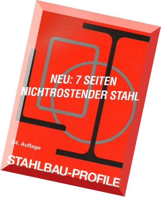 Stahlbau Profile Pdf