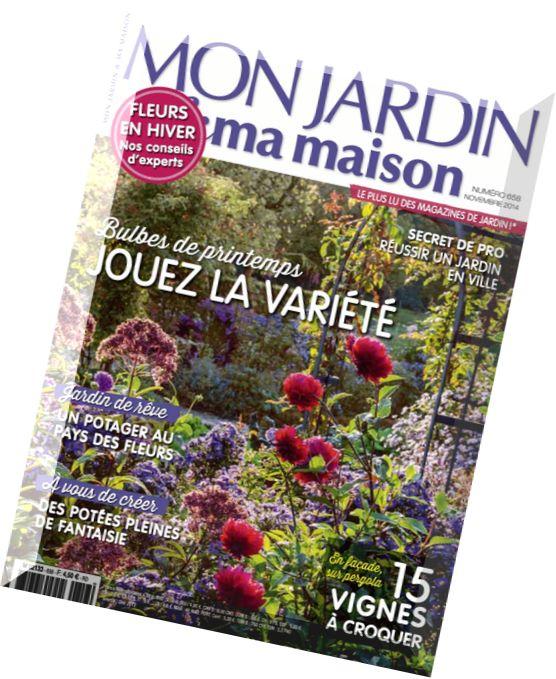 Download mon jardin ma maison n 658 novembre 2014 for Maison jardin magazine