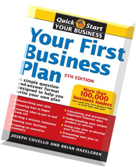 Help in making a business plan