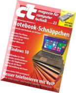 c't magazin 23-2014 (18.10.2014)