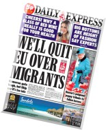 Daily Express - Friday, 17 October 2014