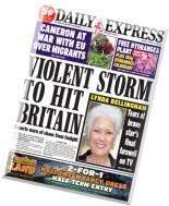 Daily Express - Monday, 20 October 2014