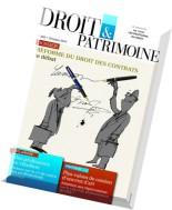 Droit & Patrimoine N 240 - Octobre 2014