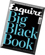 Esquire Middle East Big Black Book - Autumn-Winter 2014