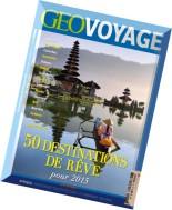 Geo Voyage France N 22 - Novembre-Decembre 2014