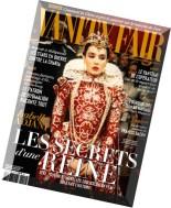 Vanity Fair France N 17 - Novembre 2014
