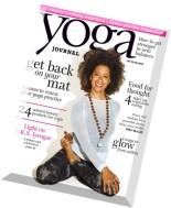 Yoga Journal USA - November 2014