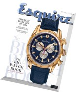 Esquire Middle East Big Watch Book - Autumn - Winter 2014