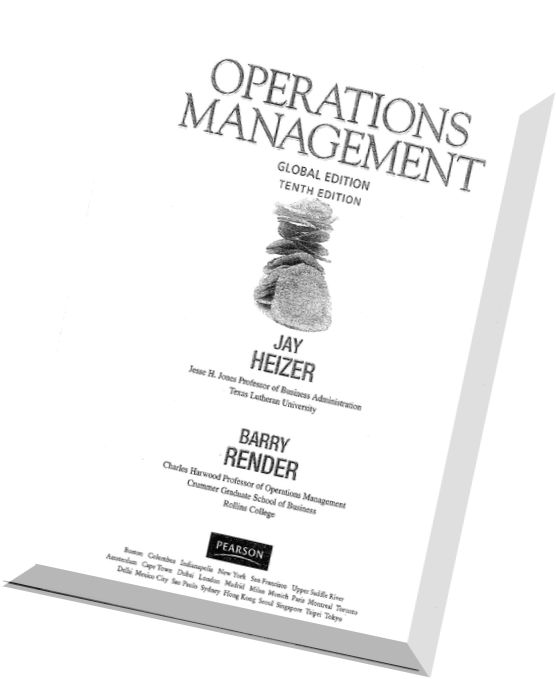 operations management heizer 10th edition Description operations management operations management heizer render operations management heizer render 10th operations management heizer render 10th.