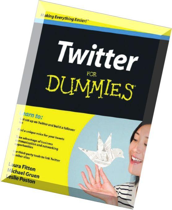 Twitter Marketing For Dummies Pdf