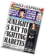 Daily Express - Friday, 24 October 2014