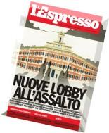 L'Espresso N 43 - 30 Ottobre 2014