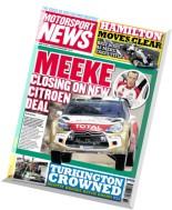 Motorsport News - 15 October 2014