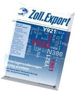 Zoll.Export - April 2013