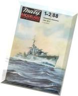 Maly Modelarz (1988-01-02) - Niszczyciel ORP Piorun