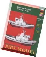 Pro-Model - 017 - Statek Ratowniczy R-27 Cyklon