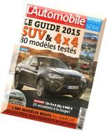 L'Automobile Hors-Serie N 55, 2014