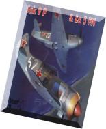 Model Kartonowy - Fly Model 111 - JAK-9P & La-5FN