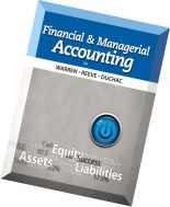 Financial and Managerial Accounting (12th edition)